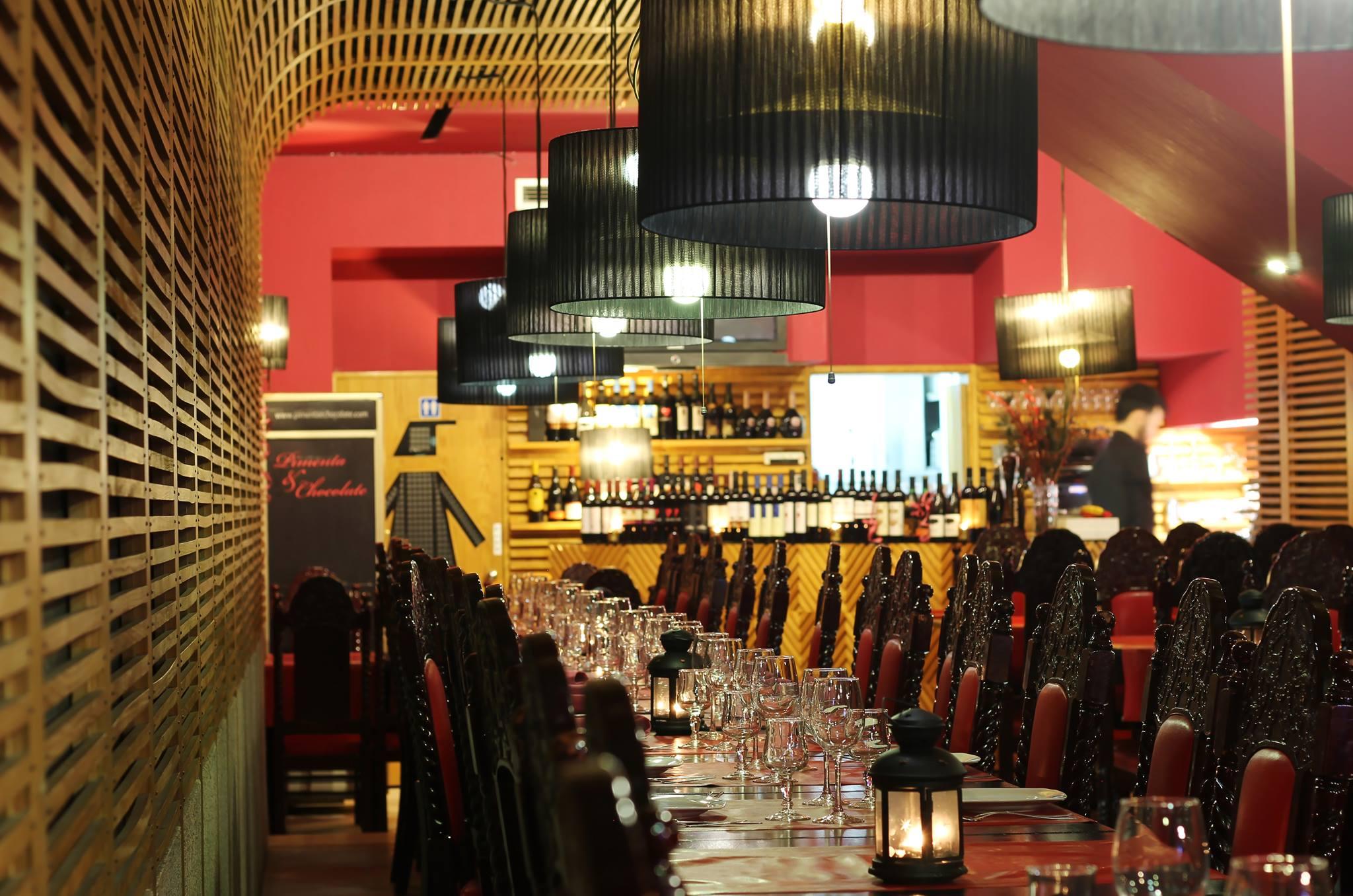 Restaurante Pimenta e Chocolate